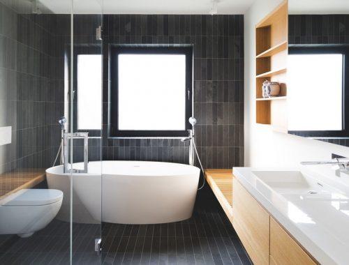 Moderne badkamer van BLACK BOX II