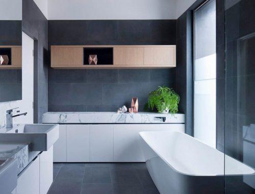 Moderne badkamer van Bridport residence