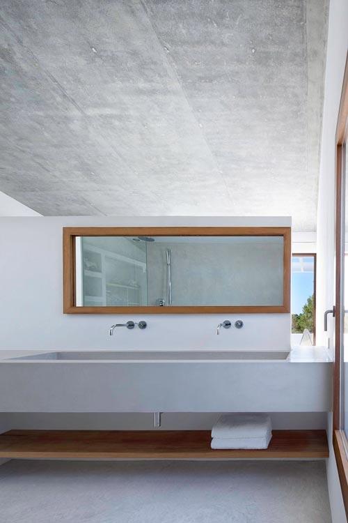 Moderne badkamer in villa Formentera