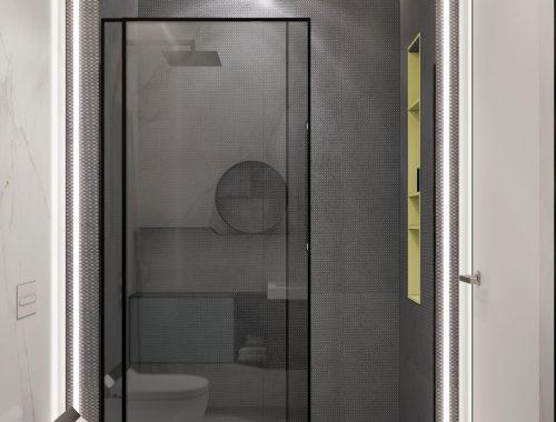 Moderne badkamer met een hoog designgehalte
