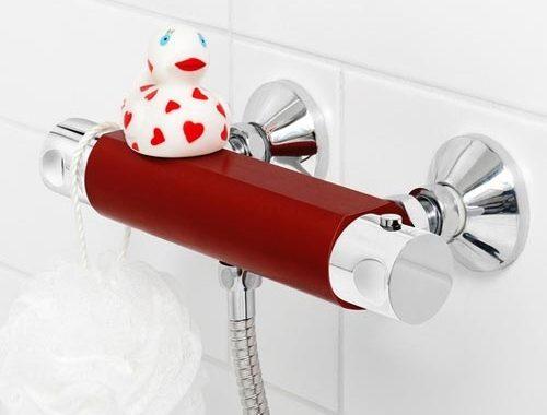 Moderne badkamer kraan van Gustavsberg