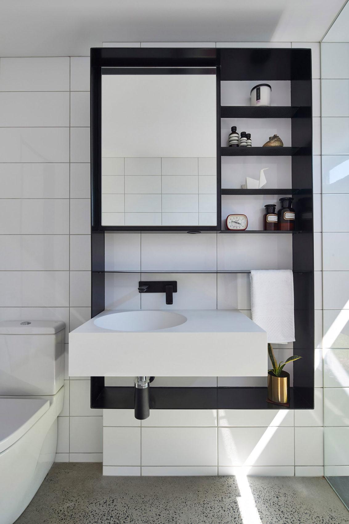badkamers voorbeelden moderne badkamer met een hele bijzondere