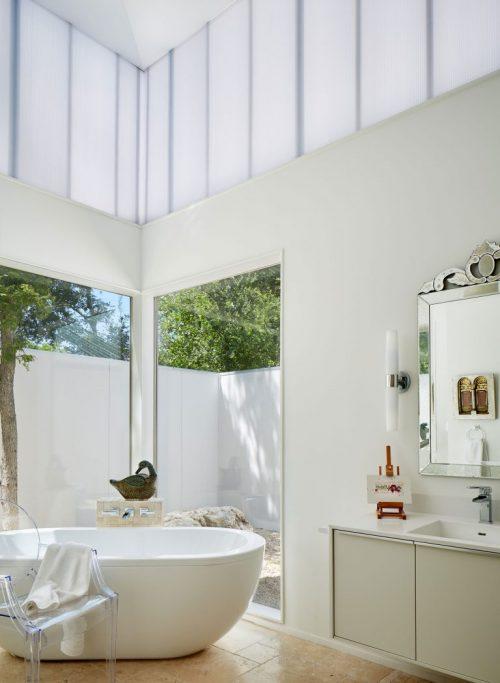 Moderne badkamer met klassiek chique eyecatchers