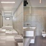 Moderne badkamer met kubussen thema