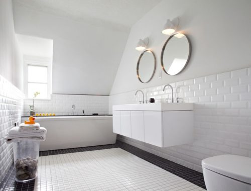 Moderne badkamer uit Toronto