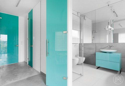 Badkamers voorbeelden moderne badkamers voorbeelden - Badkamer turkoois ...