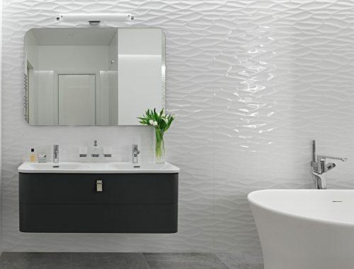 Moderne Badkamer Idees : Klassiek chique moderne badkamer uit warschau badkamers voorbeelden