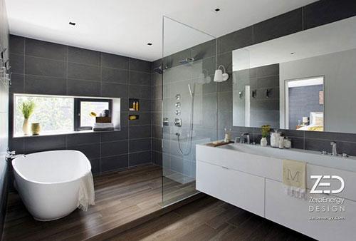 Badkamer Idee Wasmachine : Moderne Badkamers Voorbeelden En Hedendaags ...