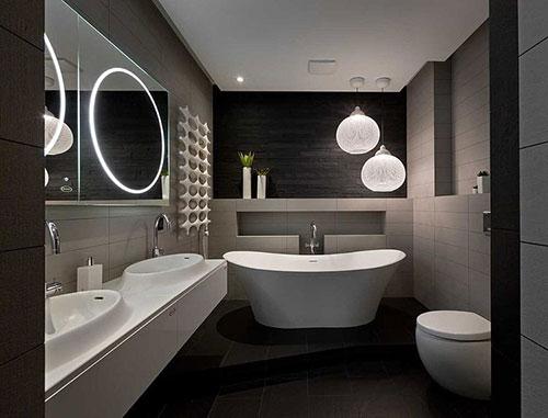 ... voorbeelden u00bb Moderne design badkamer in penthouse appartement