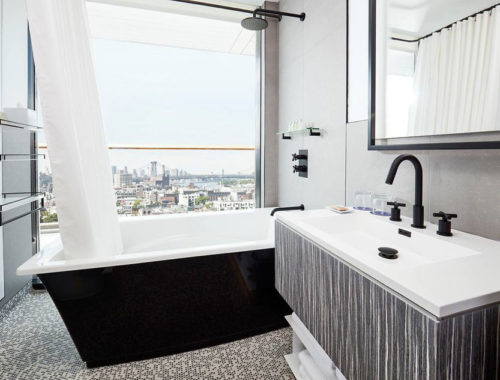 Moderne design badkamer van The William Vale hotel