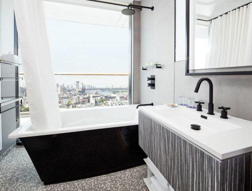 Moderne design badkamer van The William Vale hotel