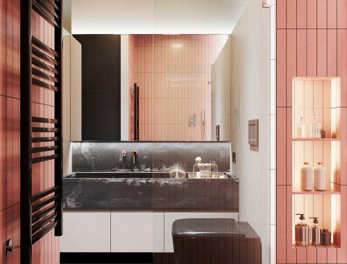 Underlayment In Badkamer : Roze tegels archives badkamers voorbeelden