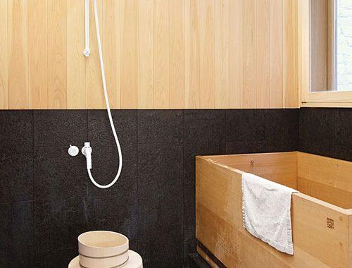 Moderne Japanse badkamer