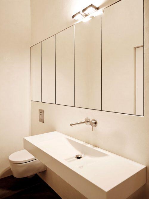 Moderne loft badkamer met Marokkaanse afwerking