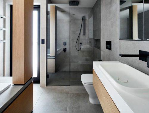 Moderne luxe badkamer door COSO Architecture