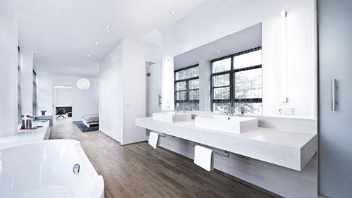 Moderne open badkamer van CarLoft - Badkamers voorbeelden