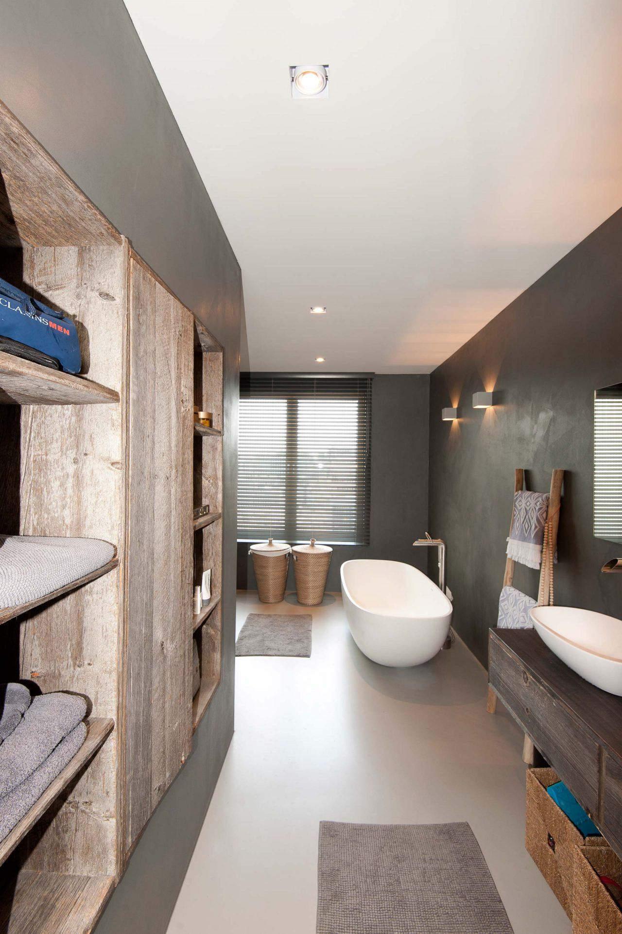 Moderne robuuste badkamer
