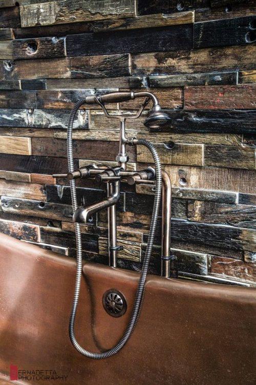 Moderne rustieke badkamer