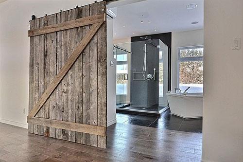 Schuifdeur Voor Badkamer : Moderne schuifdeur op maat voor badkamer moderne schuifdeuren