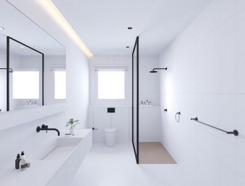 Moderne Witte Badkamer : Witte badkamer archives badkamers voorbeelden