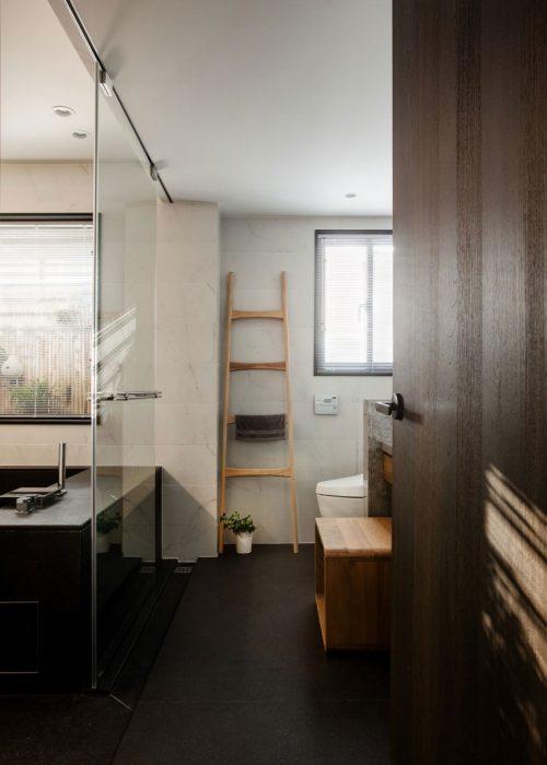 Moderne vintage badkamer uit Taiwan