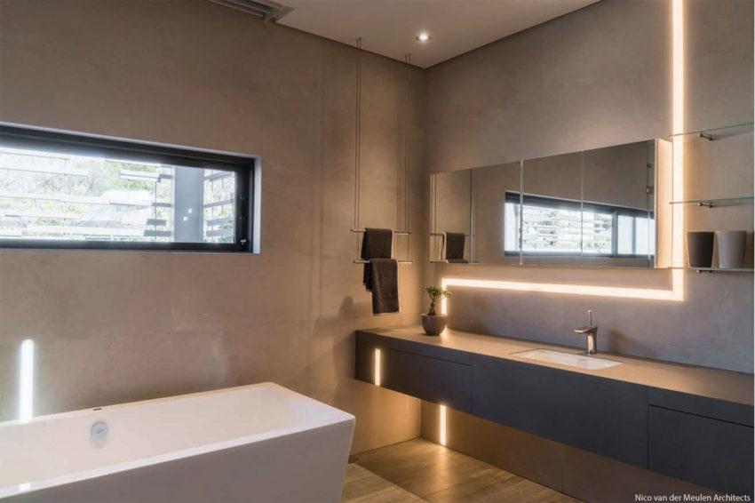 Warme Rustieke Badkamer : Moderne warme badkamer door architect nico van der meulen