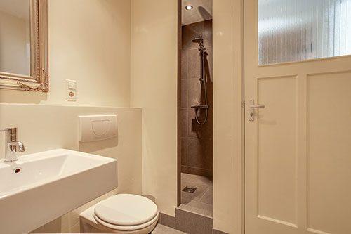 Mooi verbouwde badkamer