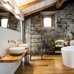 Mooie badkamer van boetiekhotel Monaci Delle Terre Nere