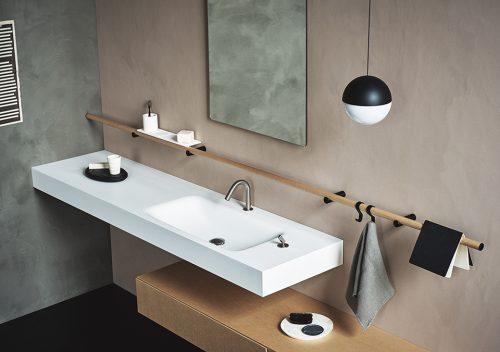 Mooie badkamer in shoot voor Dot Line