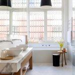 Mooie badkamer van Victoriaanse woning uit Melbourne