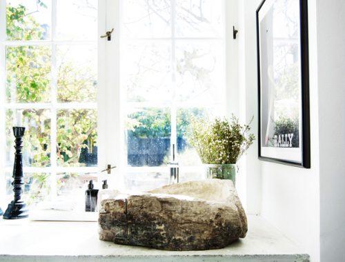 Mooie Deense badkamer met een Hamam sfeer