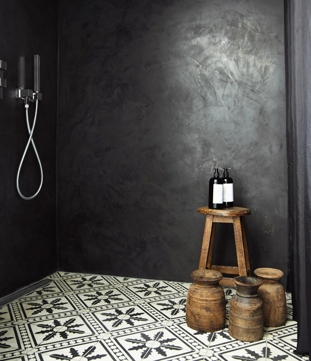 Mooie Deense badkamer met een Hamam sfeer - Badkamers voorbeelden
