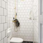 Mooie kleine badkamer in een klein appartement van 30m2