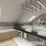 Mooie materialen mix in een stoere badkamer
