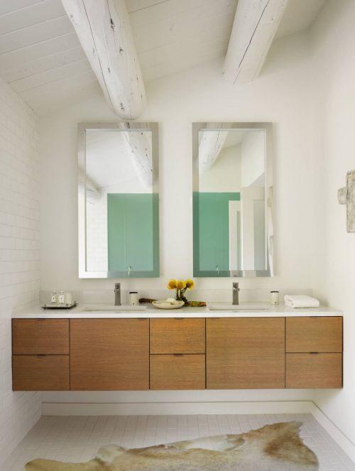 Mooie witte badkamer met uitzicht badkamers voorbeelden - Mooie badkamers ...