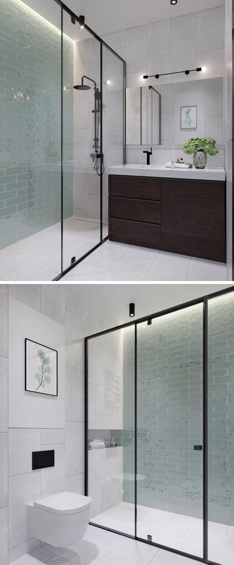 Badkamers voorbeelden moderne badkamers voorbeelden - Badkamer klein gebied m ...