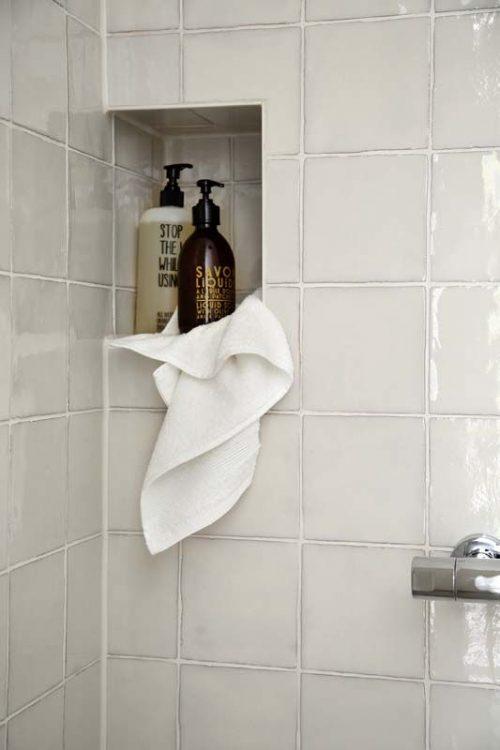Nisjes in badkamer