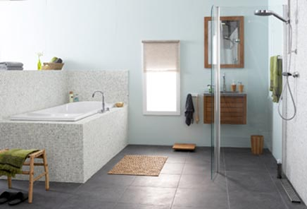 Oosterse badkamer van de Praxis