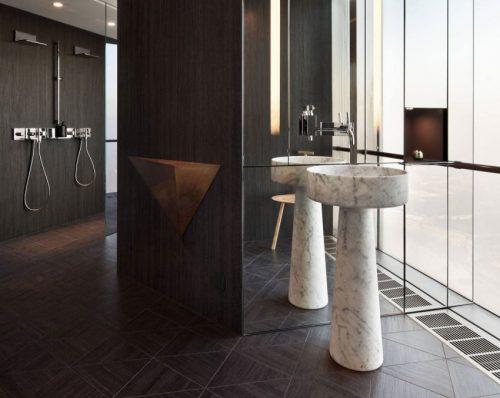 Inrichting badkamer bouwinfo open douche ruimte risofu
