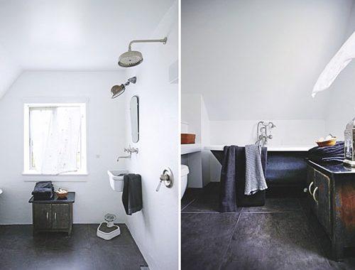 Oud en nieuw in badkamer