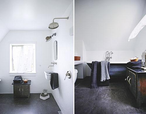 Oud en nieuw in badkamer - Badkamers voorbeelden