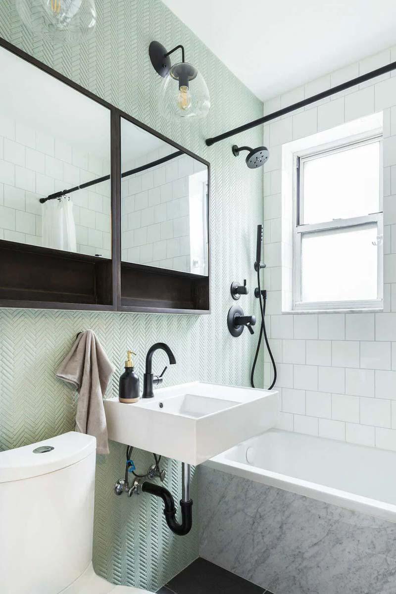 Pastel badkamer