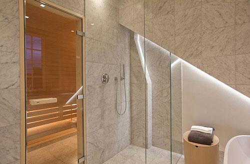 Penthouse badkamer in Stockholm