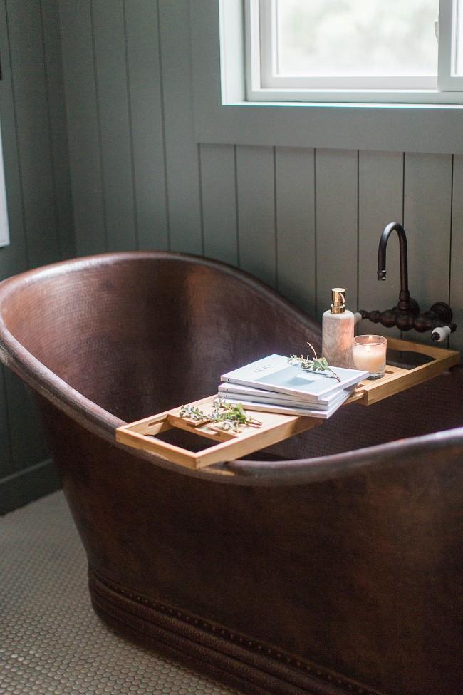 Plankje op bad