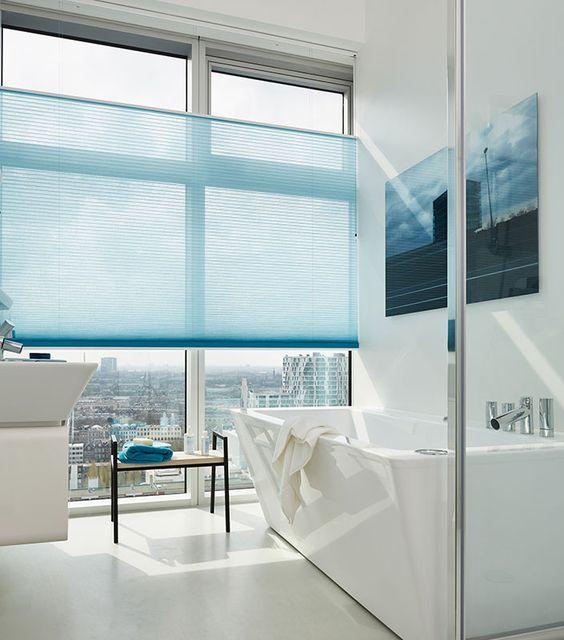 plissegordijn-badkamer