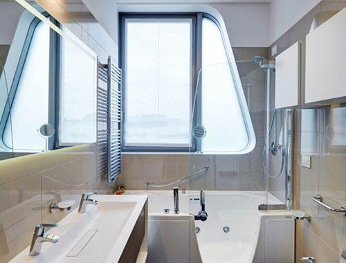 Bad met douche archives badkamers voorbeelden