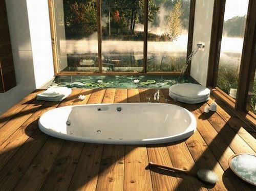 Relaxte Spa als badkamer