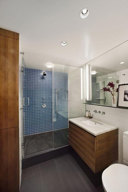 Renovatie van kleine badkamer - Badkamers voorbeelden