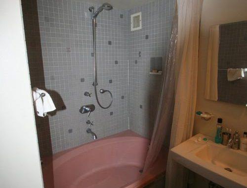 Renovatie van kleine badkamer