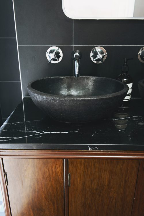 Retro badkamer uit Australië